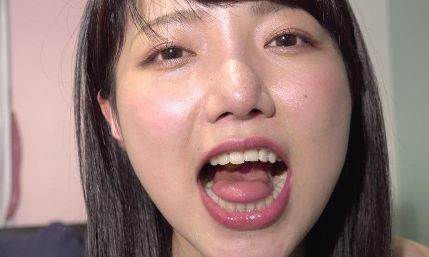 夏原唯ちゃんのとってもレアな口内・舌ベロ作品!