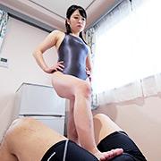 南梨央奈チャンの電気あんま・M男くすぐり!!