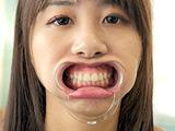 愛里るいちゃんの歯・のどちんこ・舌ベロフェチ! 【DUGA】