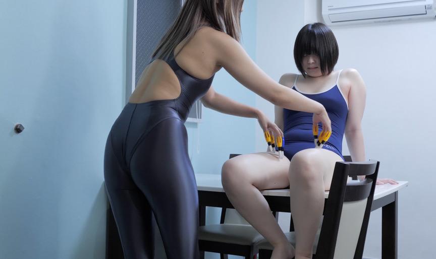 【くすぐり F/F】紺野ひかる→檸檬.チャンのゆび筆くすぐり攻め!