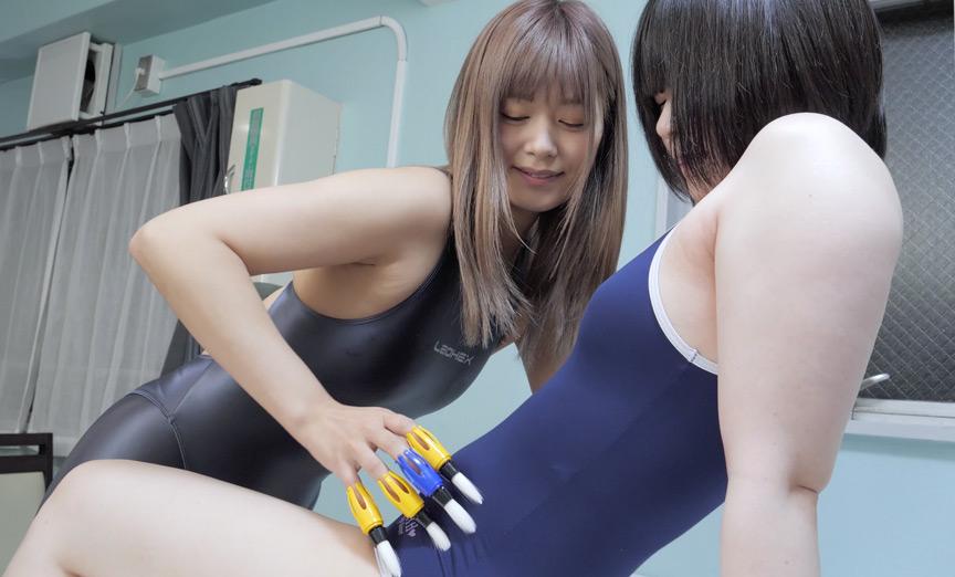 紺野ひかる→檸檬.チャンのゆび筆くすぐり攻め!