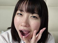 フェチ:名波さくらちゃんの舌ベロ口内観察&オナニー!