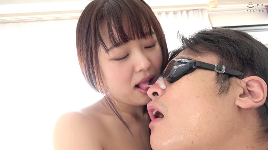 宮沢ちはるチャンの大量の唾垂らし&極上顔舐め鼻フェラ