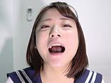 天希ユリナちゃんの貴重な口内・のどちんこ・銀歯観察 【DUGA】