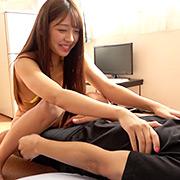 大人気女優 木下ひまりチャンの超M男くすぐり!!!
