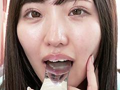 口腔:まみチャンの歯口内観察&ししゃも舐め&指フェラ!!!