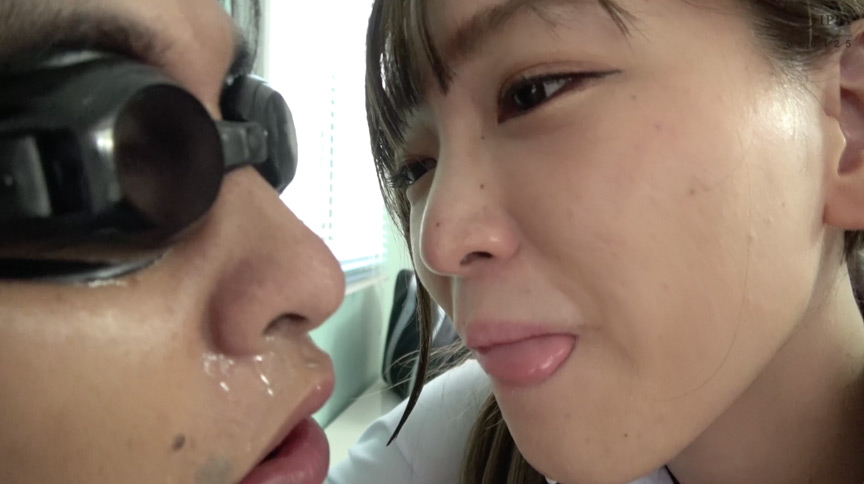 星あめりチャンの口内観察・M男に顔舐め唾シャワー 画像 26
