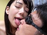 有村のぞみチャンの濃厚な唾垂らし鼻フェラプレイ! 【DUGA】