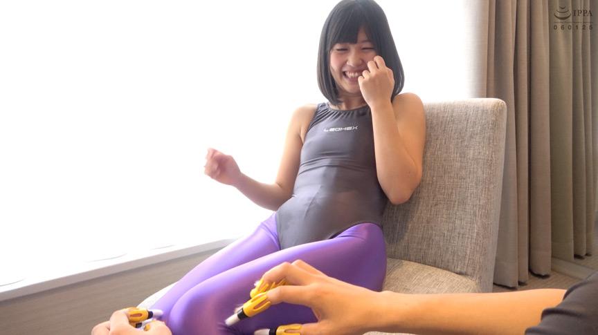 須崎美羽チャンの指フェラ&タイツくすぐりの刑!!! 画像 8