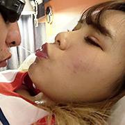 永瀬愛菜ちゃんの仰向けツバベロ攻めプレイ!!