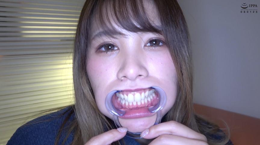 超超超どエロい永瀬愛菜ちゃんの歯・口内・のどちんこフェチ動画! 2枚目
