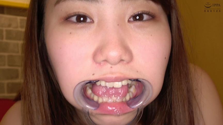 人気女優 篠原りこチャンの歯・口内・舌ベロ・涎・のどちんこ観察! 14枚目