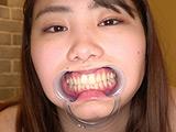 篠原りこの歯・口内・舌ベロ・涎・のどちんこ観察! 【DUGA】