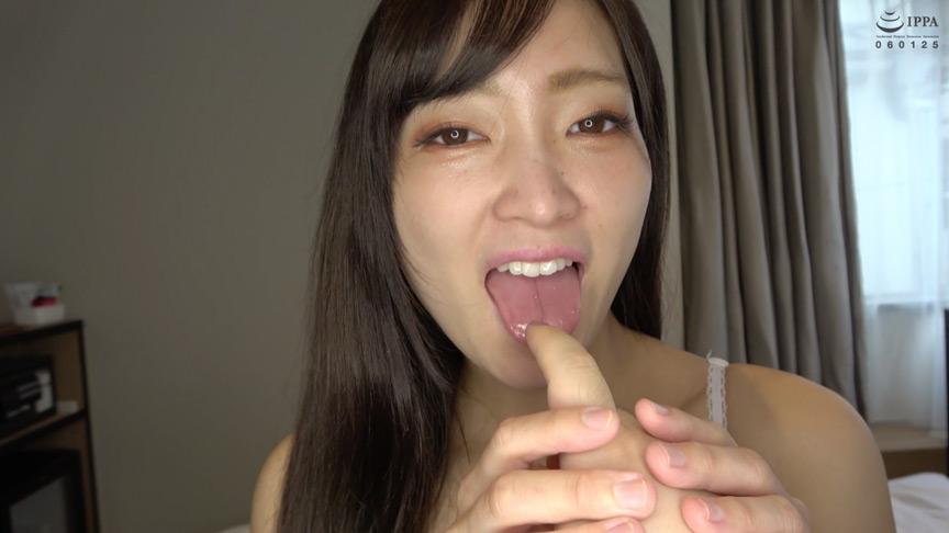 星あめりチャンの超濃厚な指フェラ&顔舐めプレイ!