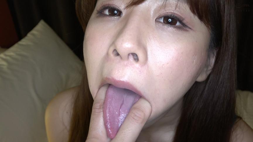 真白わかなのびっちょり顔舐め&濃厚指フェラプレイ! 画像 5