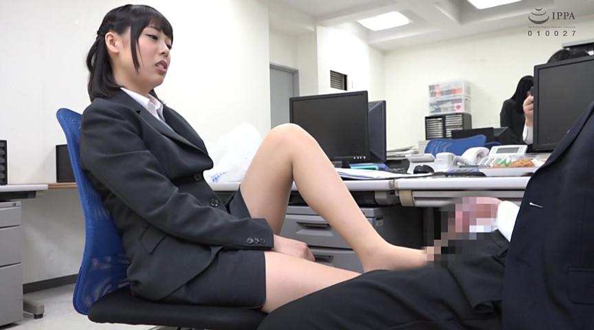 M男の先輩をドS女の新入社員(七海ゆあ)がいじめ返すエロ動画を解説