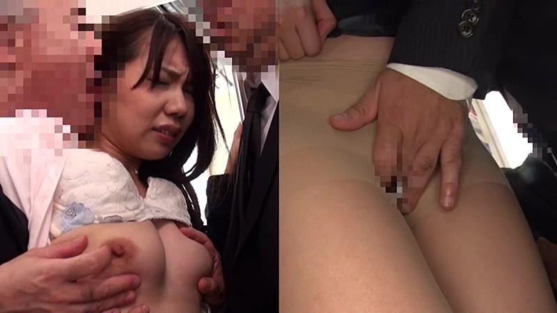 2画面痴漢 【OL編】 南まゆ