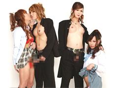 ニューハーフVSニューハーフ 不純同性肛遊|アルファーインターナショナル