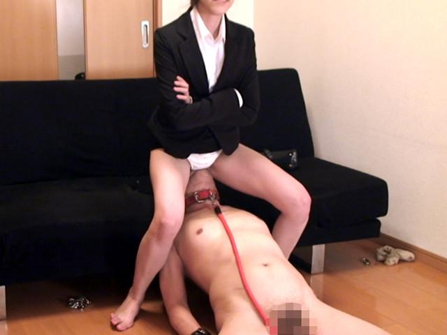 M男チ○ポを発情させる就活女子のムレムレ生足生尻圧迫責め の画像11