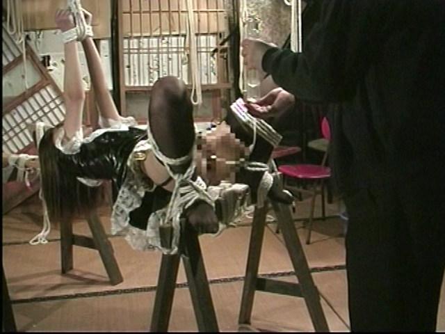 メイドM奴隷 鞭打ちアナル調教 画像 13