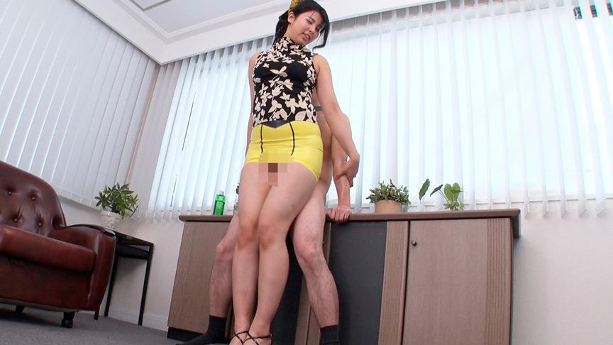 IdolLAB   aroma-2114 ラテックスタイトミニ×むちむちの腿こき