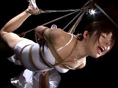 緊縛:縄玩弄レオタード3 篠田めぐみ