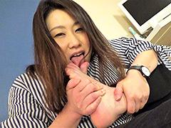 【マニアック動画】【足のにおい】-雑貨屋店長・35℃の足クソ