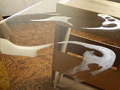 【足のにおい】 アパレル・テカリ顔脂足のサムネイルエロ画像No.1