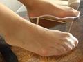 N-34 【足のにおい】 モデル・パンスト塩昆布 無料画像0