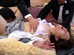 紫彩乃クンニ動画|ザ・面接 VOL.89 熟女の「淫獣」 僕らの「紳士」