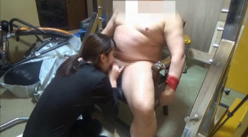 超残酷人体実験M男拘束90分連続鬼フェラチオ21回