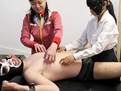 【辱め動画】M男長時間連続乳首くすぐり責め拷問