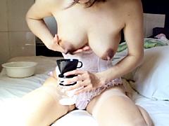 妊産婦奥様 母乳噴乳映像 VOL.012