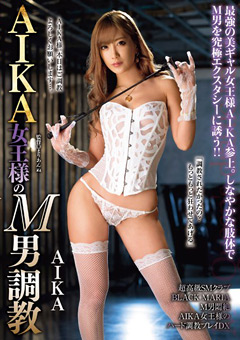 「AIKA女王様のM男調教」のパッケージ画像