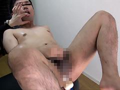 【gay】アナルシェイク☆乗馬マシーンに突かれて悶絶☆ドピュ!