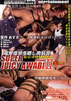 SUPER JUICY AWABI season2 狂い泣く女子校生残酷哀歌 vol.5 電撃痙攣生晒し肉玩具