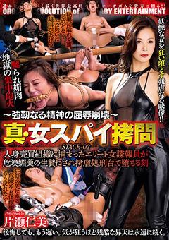 【片瀬仁美動画】~強靭なる精神の屈辱崩壊~-真・女スパイ拷問02 -辱め