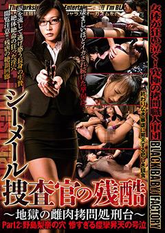 【ニューハーフ動画】シーメール捜査官の残酷-Part2:野島梨奈