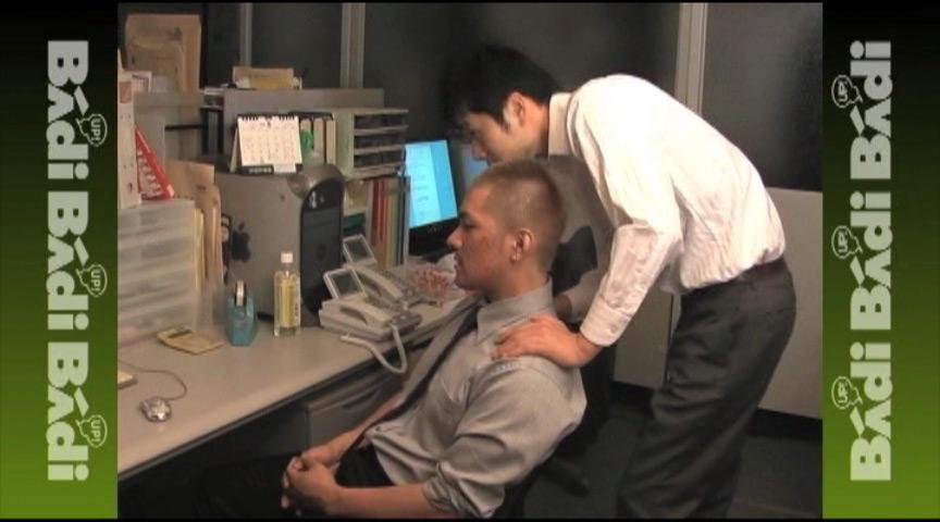 働く男達 勤務中の呼び出し発射 01
