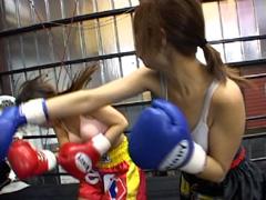 女子キックボクシング1