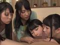 4人でルームシェアする痴女っ娘たちの自宅中出し合コン-5