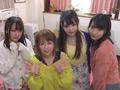 4人でルームシェアする痴女っ娘たちの自宅中出し合コン2-0