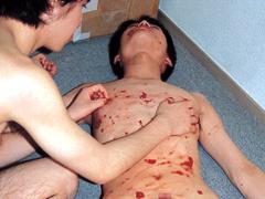 ゲイ・B+B VIDEOS・MEN'S BOKKI いちご味・HIDEAKI,TAMAKI・bbvideos-0017