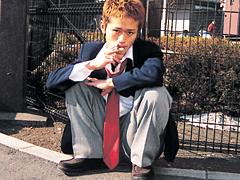 ゲイ・B+B VIDEOS・いじめの構図 2日目 先生をヤレ!・TATSUYA,SHIRO,倉田先生・bbvideos-0086