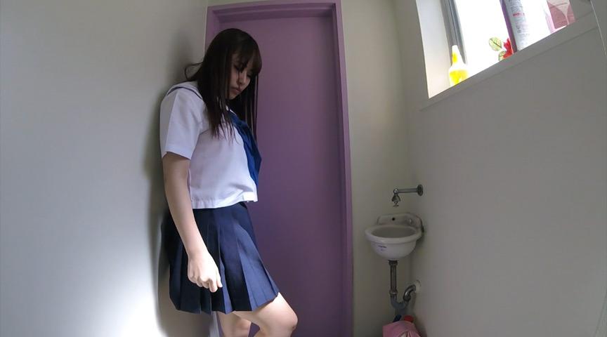 局部アップ進学塾 女子●生トイレ盗撮投稿映像 画像 7