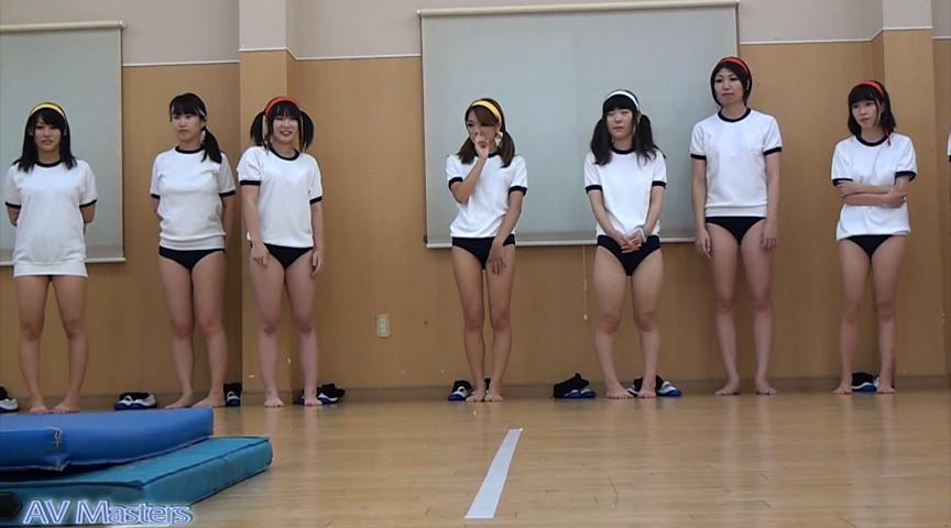 女の子の裸足で体育 画像 3