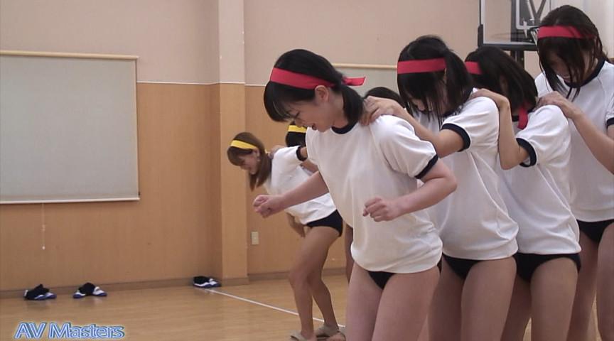 女の子の裸足で体育 画像 4