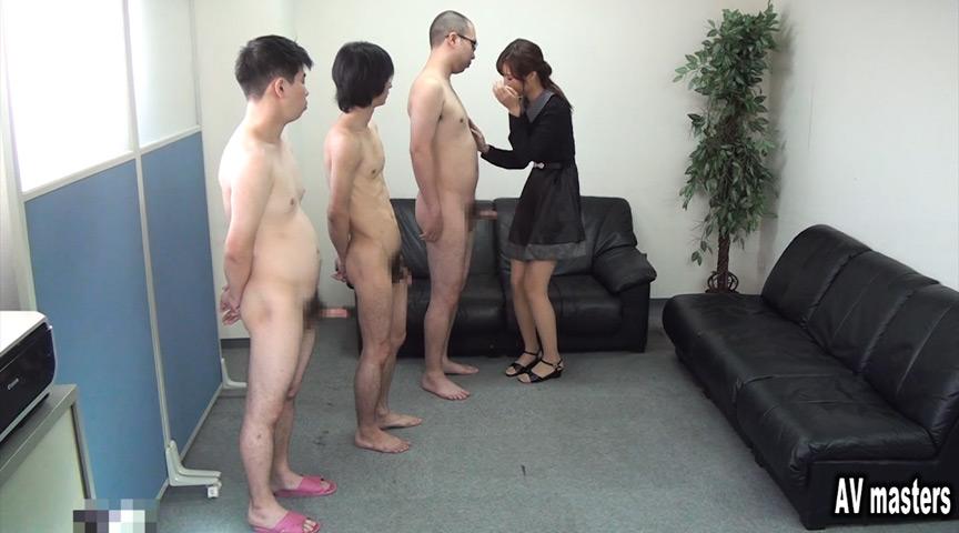 全裸男の撮影隊が全員発射!(CFNM) OL編 画像 1