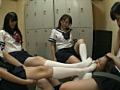 美少女JK 密室女子足臭いじめ!!-8