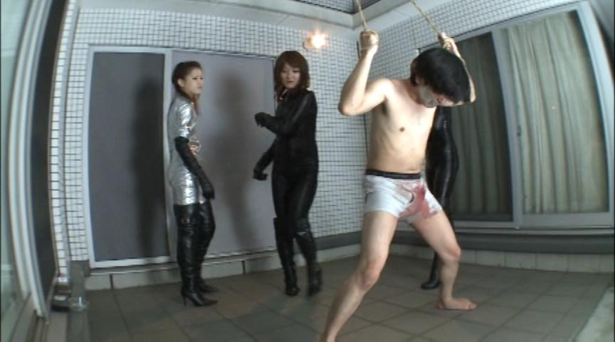 お嬢様の 超金蹴り!! 画像 15